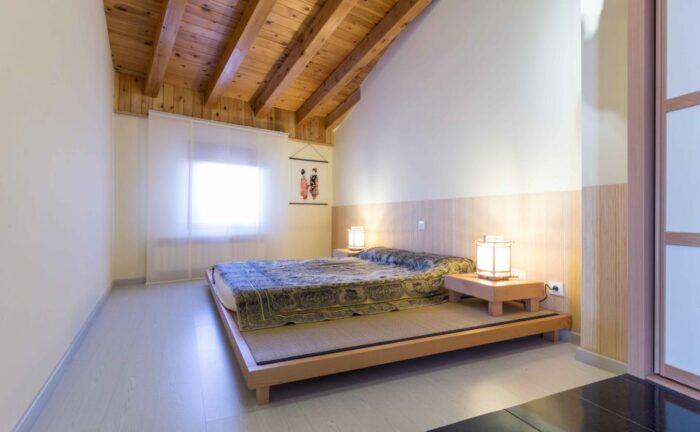 Tatami con futon