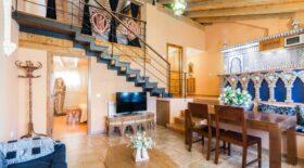 Casa rual con encanto en la decoracion