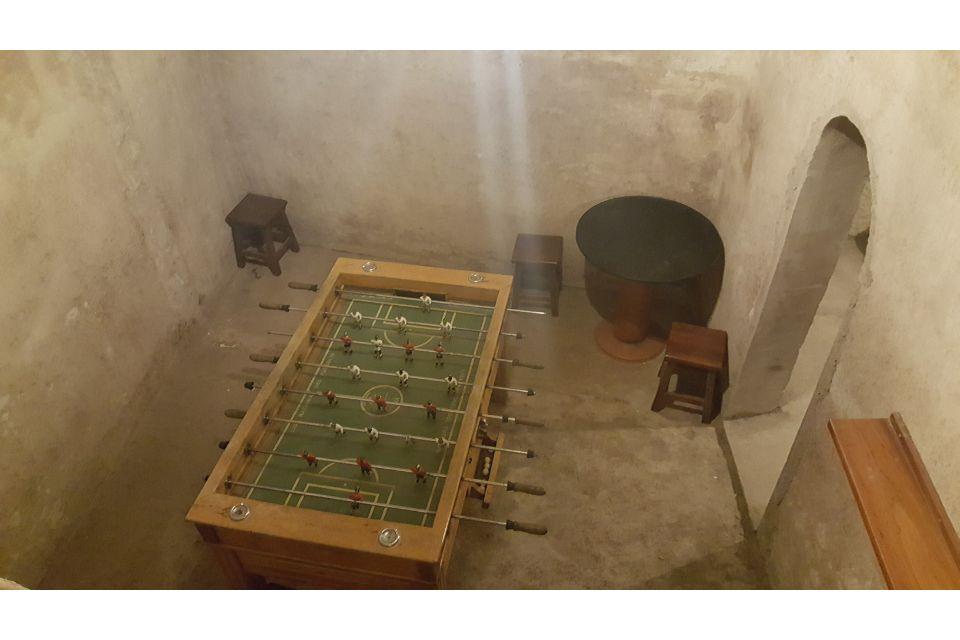 Casa rural con billar y futbolín