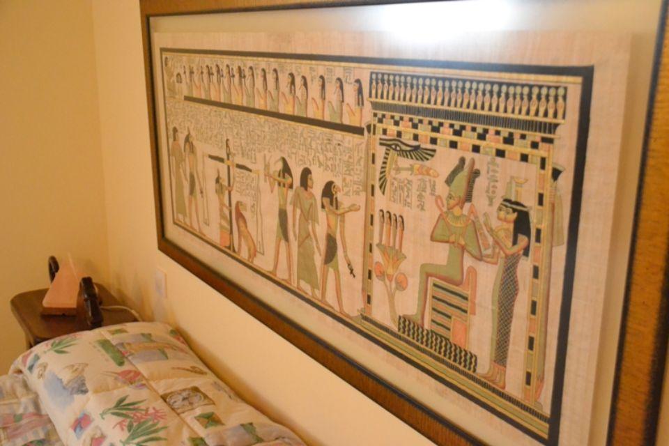 Cabecero cama egipto